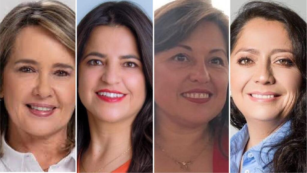 Cuatro concejalas se perfilan para asumir la Vicealcaldía de Quito