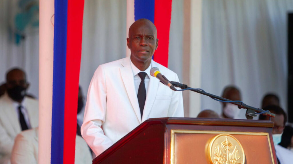 Asesinan a tiros al presidente de Haití en su domicilio
