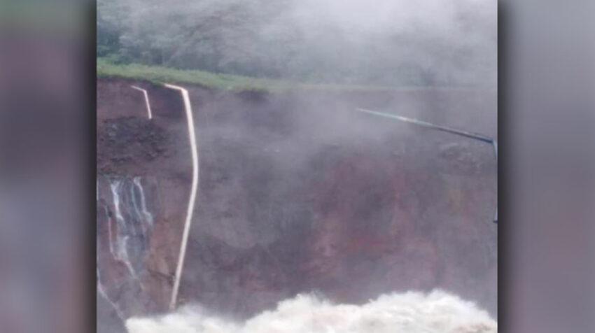 El 7 de abril de 2020, un deslave produjo la rotura del SOTE, el OCP y un poliducto.