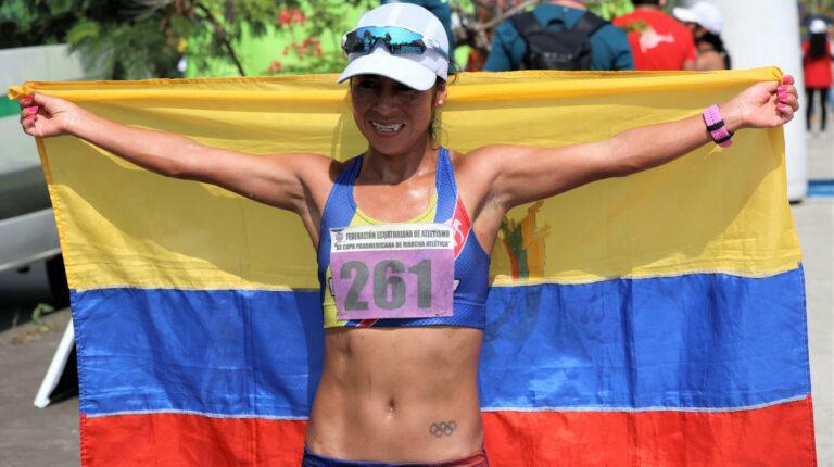 Marchista Paola Pérez