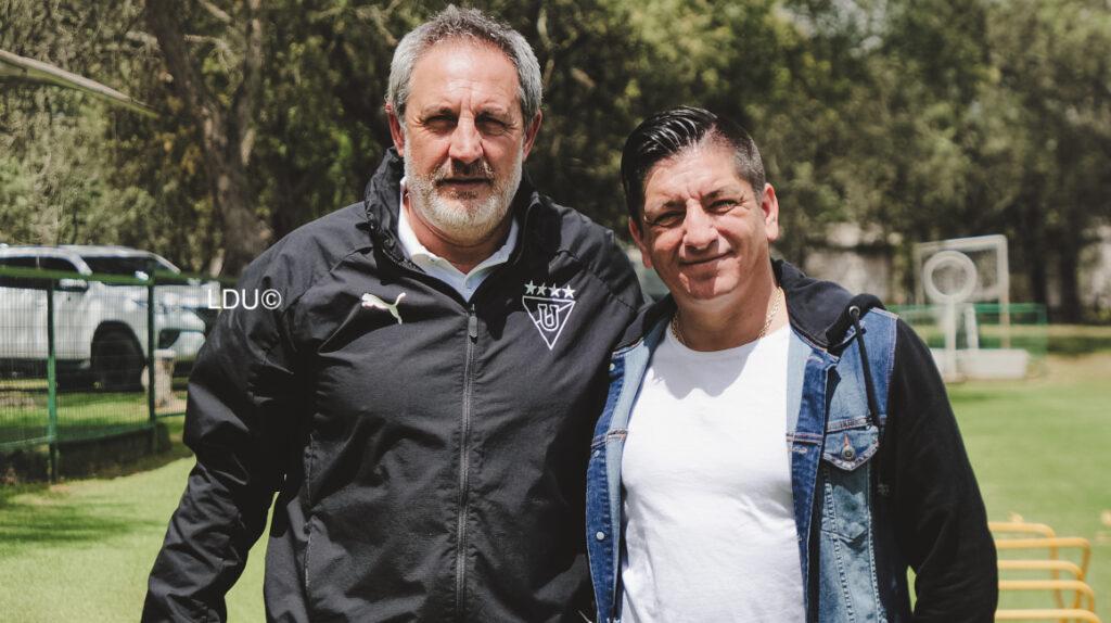 Damián Manso ficha por Liga de Quito y se une al cuerpo técnico