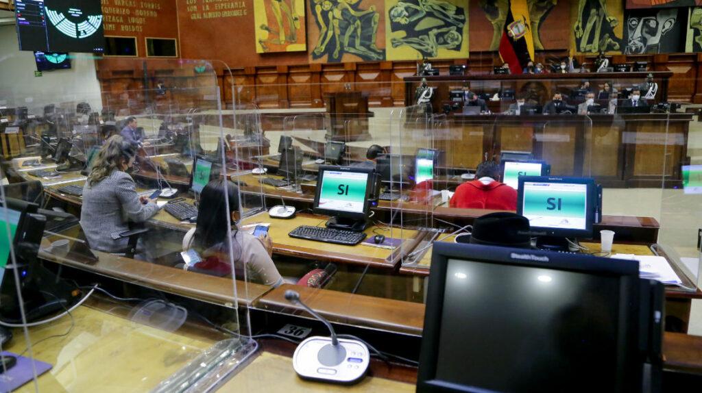 Asamblea rechaza el informe de gestión de Lenín Moreno