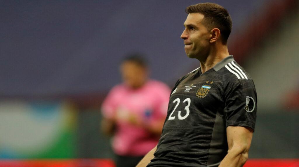 Emiliano Martínez se perdió el nacimiento de su hija por la Copa América