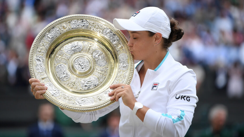 Ashleigh Barty, la primera australiana en ganar Wimbledon tras 41 años