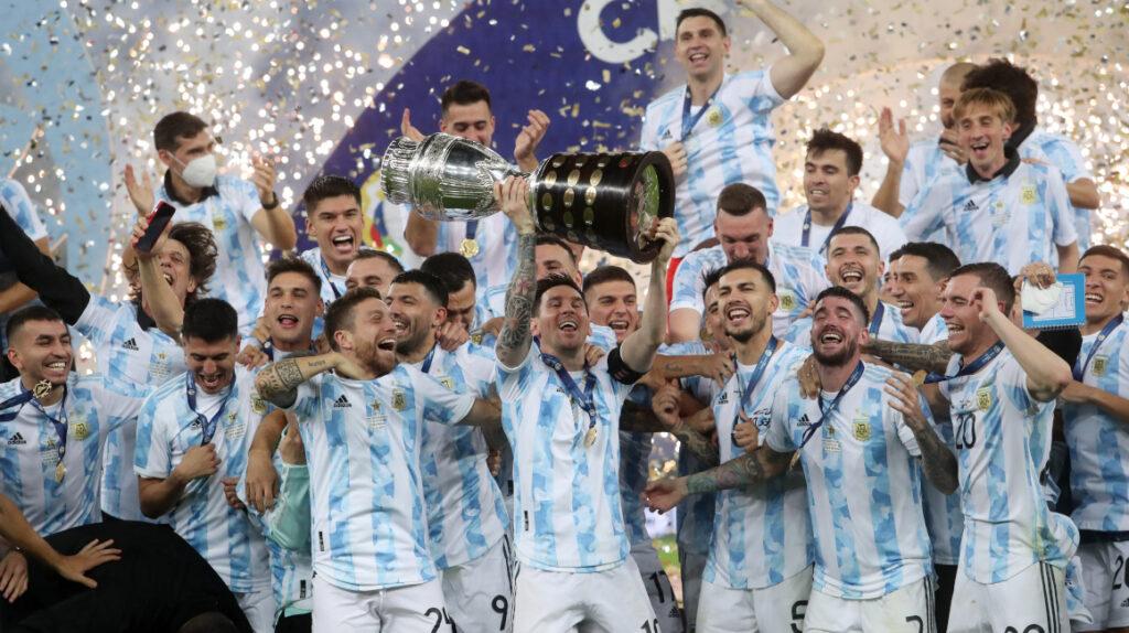 Argentina vence a Brasil y es campeón de la Copa América tras 28 años