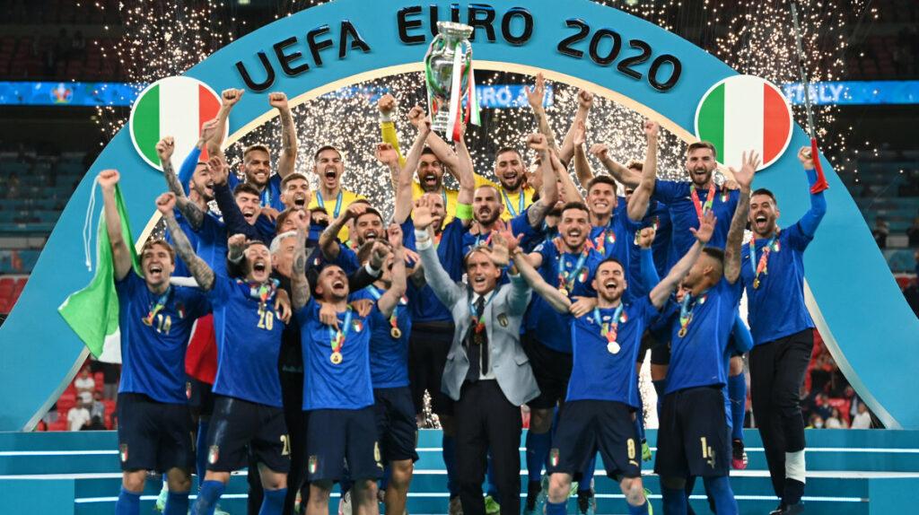 Italia se proclama campeón de la Eurocopa en Wembley tras 53 años