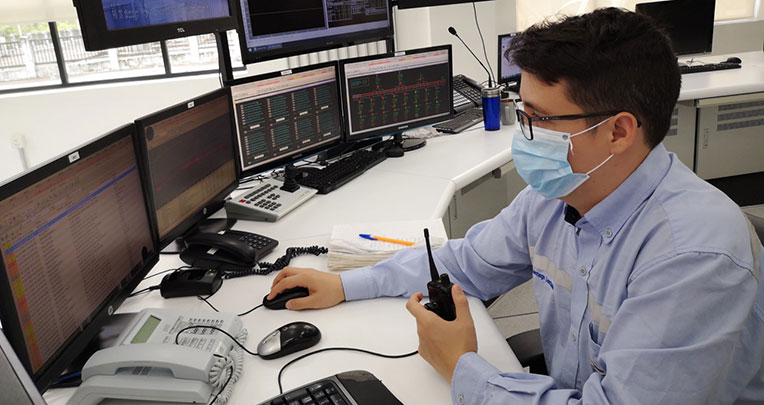 Desde este centro se monitorea el funcionamiento de la planta de Coca Codo.