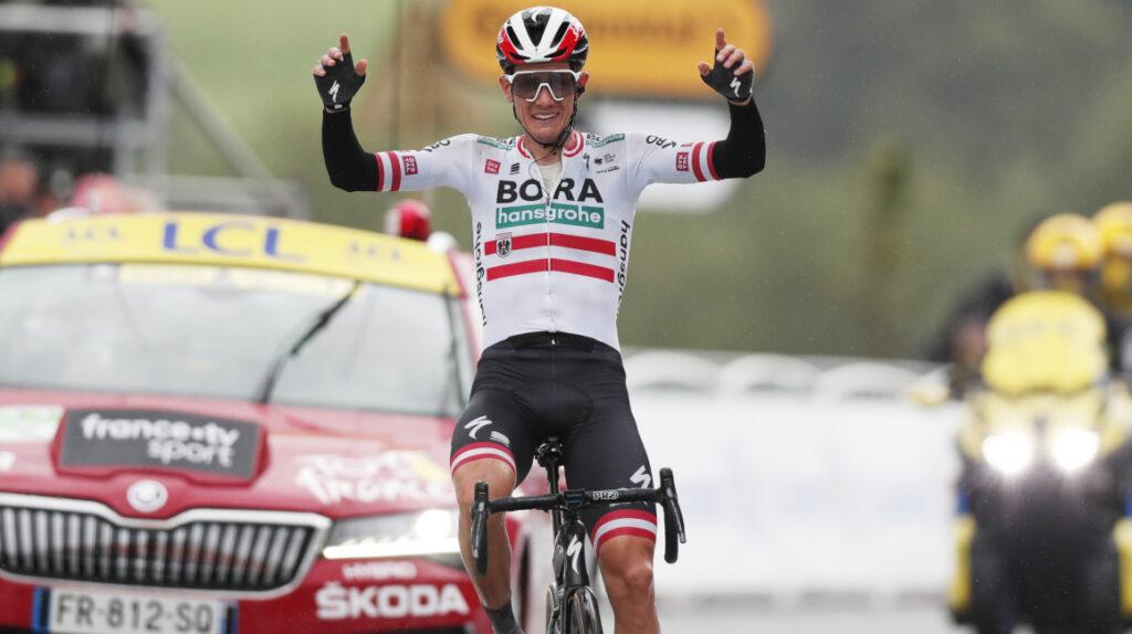 Patrick Konrad gana la Etapa 16 del Tour y la general sigue sin cambios