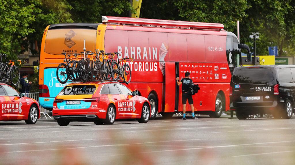 Equipo Bahrain Victorious es investigado por dopaje en el Tour de Francia