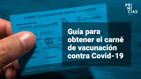 portada guía certificado vacunacion