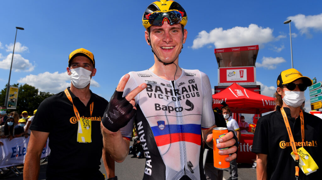 Matej Mohorič gana en solitario la Etapa 19 del Tour de Francia