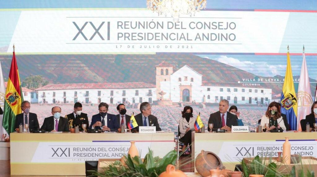 Ecuador asume la presidencia pro tempore de la CAN en Bogotá