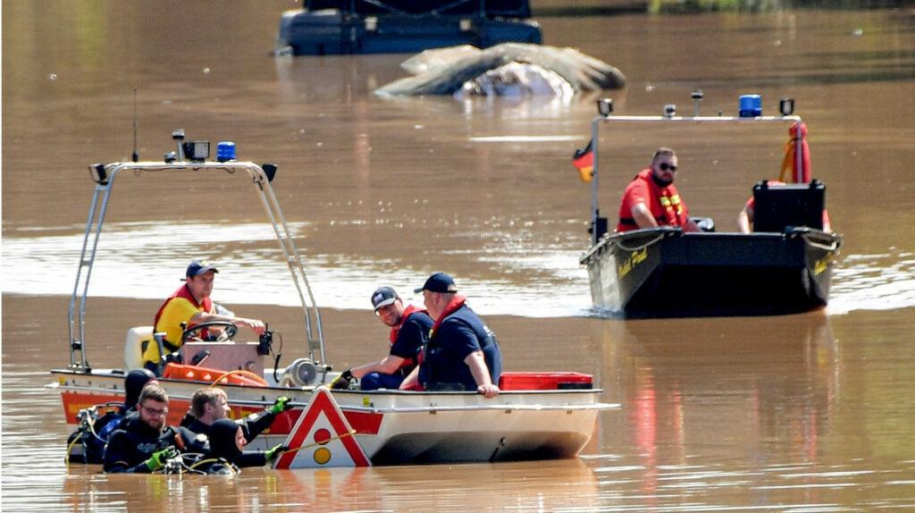 Suben los fallecidos por inundaciones en Alemania y Bélgica