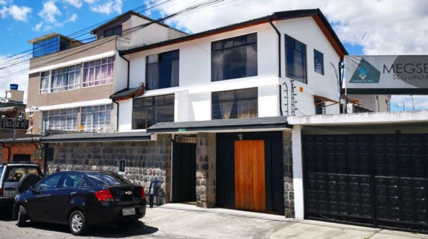 La nueva sede de Alianza PAIS el 13 de julio de 2021, en Quito.
