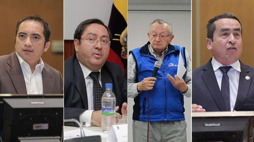 Rostros conocidos integran los equipos de asesores en la nueva Asamblea