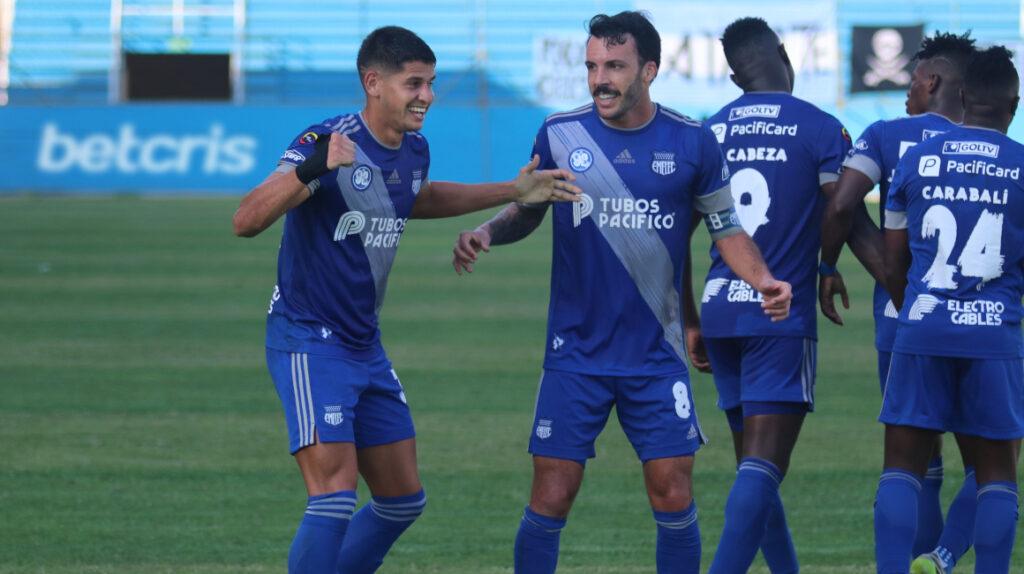 Emelec golea al Manta y se lleva el título de la primera etapa de la LigaPro