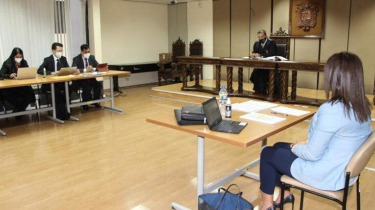 Audiencia de revisión de medidas cautelares del caso Las Torres, el 19 de julio de 2021.