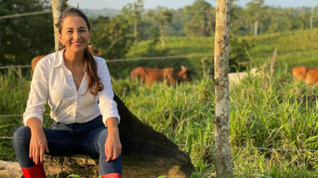 """Tanlly Vera: """"Daremos USD 1.000 millones en créditos para el agro"""""""