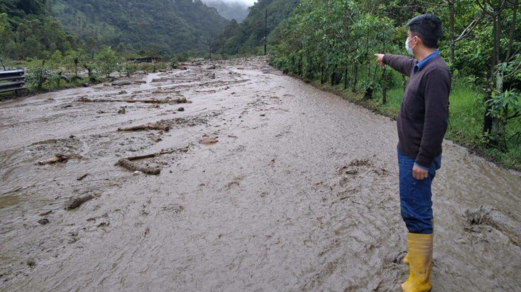 Aumento del caudal del río Papallacta amenaza al OCP