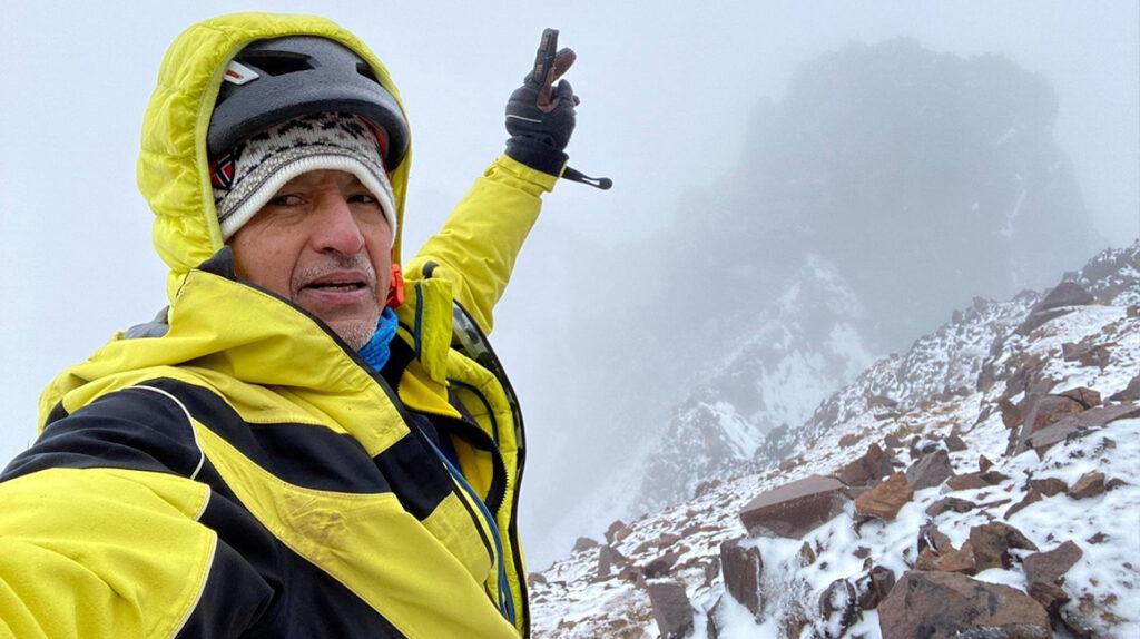 De montañista a 'youtuber': Iván Vallejo se reinventa, no se lo pierda
