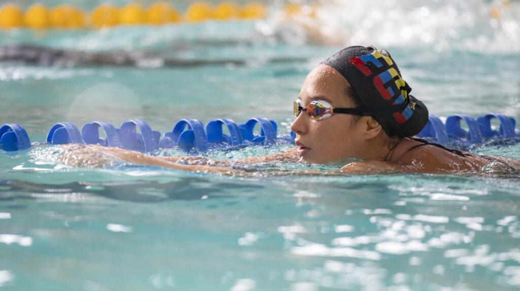 Samantha Arévalo disputará una dura maratón acuática en Tokio
