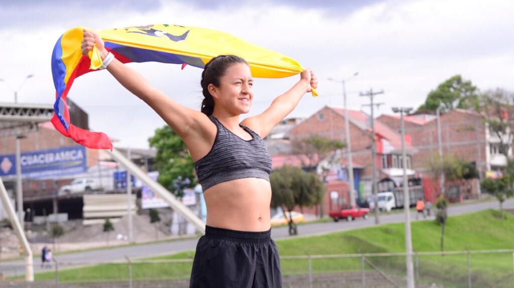 Glenda Morejón, la humildad en su modo más combativo