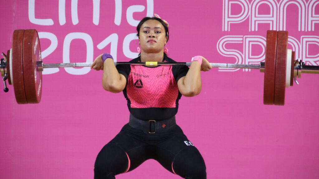Neisi Dajomes dio negativo para Covid-19 y sí podrá competir en Tokio