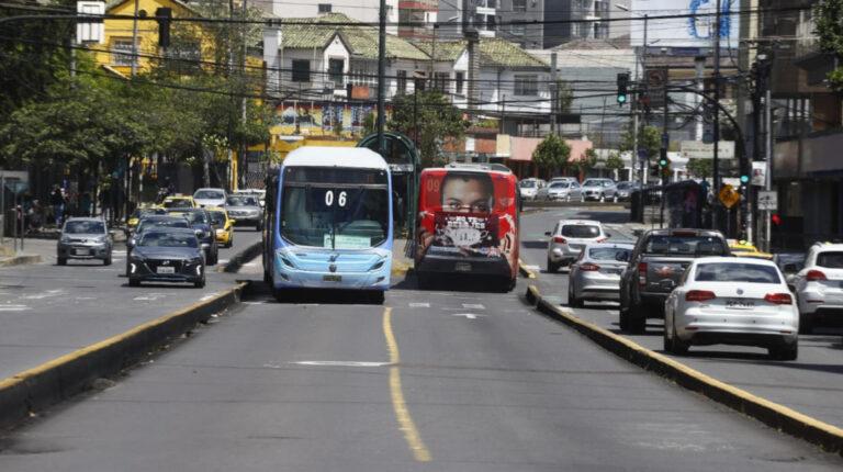 Transporte municipal en Quito operará con normalidad este 26 de octubre