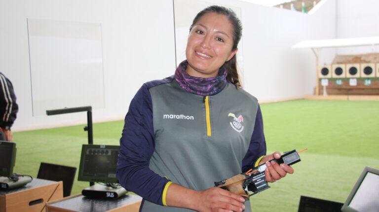 Diana Durango, la primera militar ecuatoriana en unos Juegos Olímpicos
