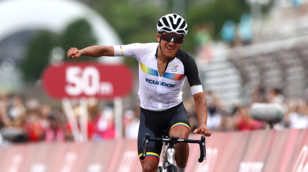 ¡Histórico! Richard Carapaz gana la medalla de oro en los Juegos Olímpicos