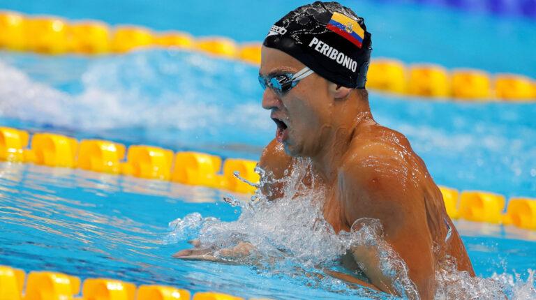 Tomás Peribonio no se clasifica a la final de los 400 metros combinados