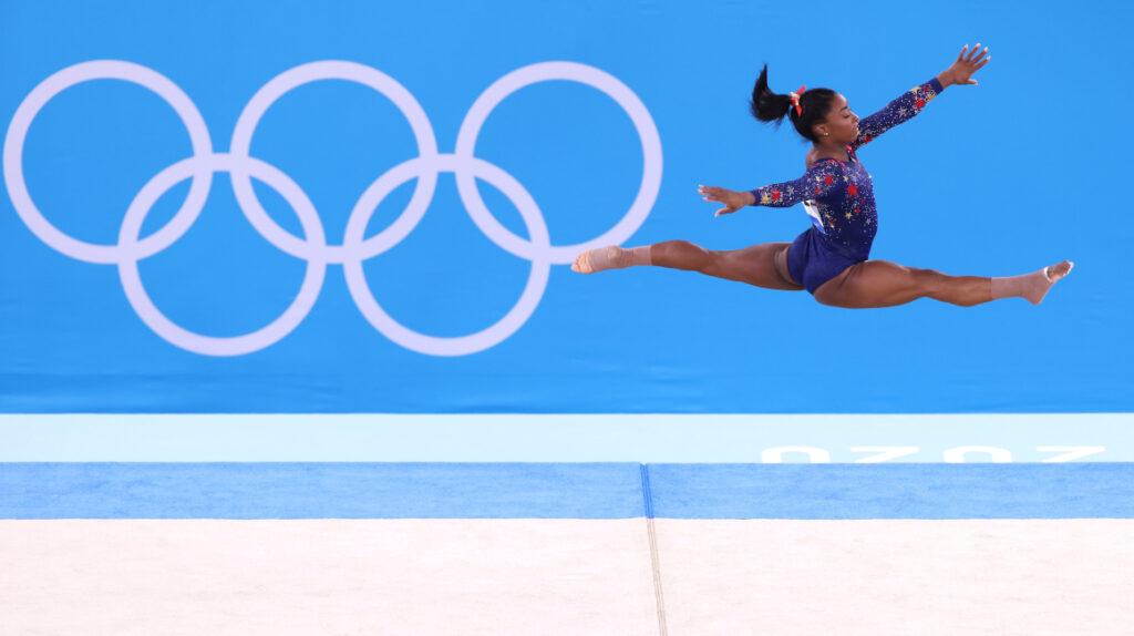 Estados Unidos, detrás de Rusia en el preliminar de gimnasia artística