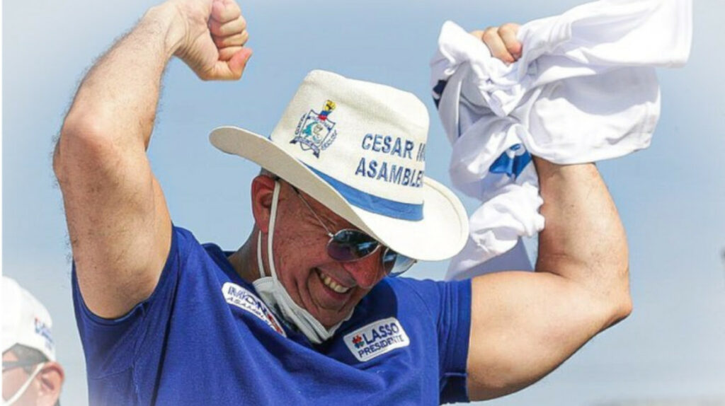 César Monge Ortega, la tenacidad de un hombre que cumplió su sueño