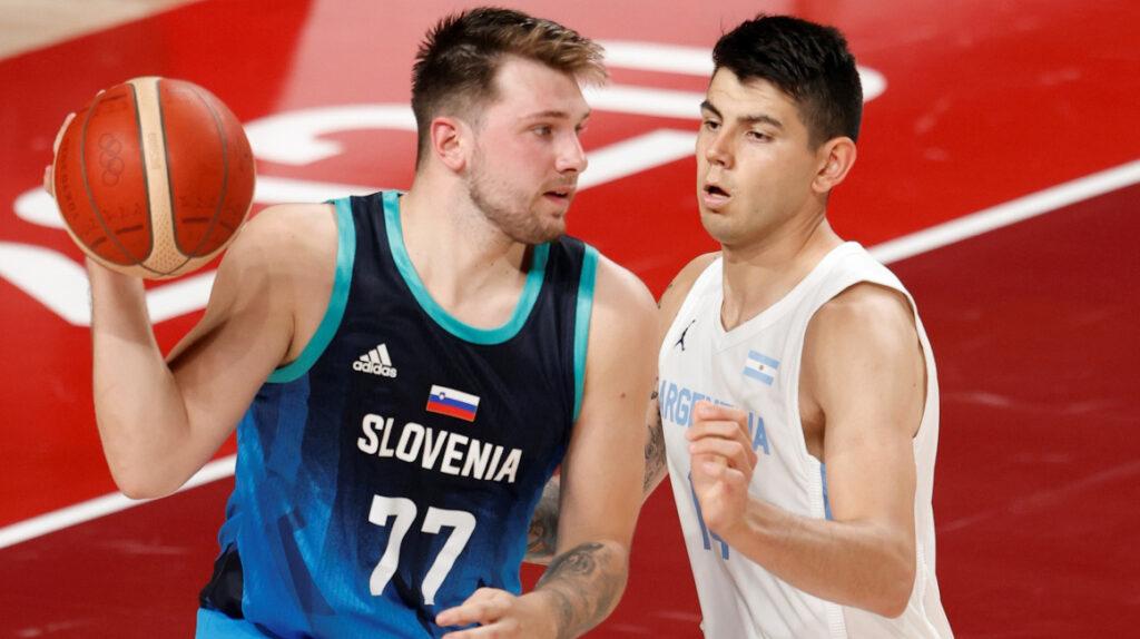 Eslovenia derrota a Argentina con Luka Doncic como la gran figura