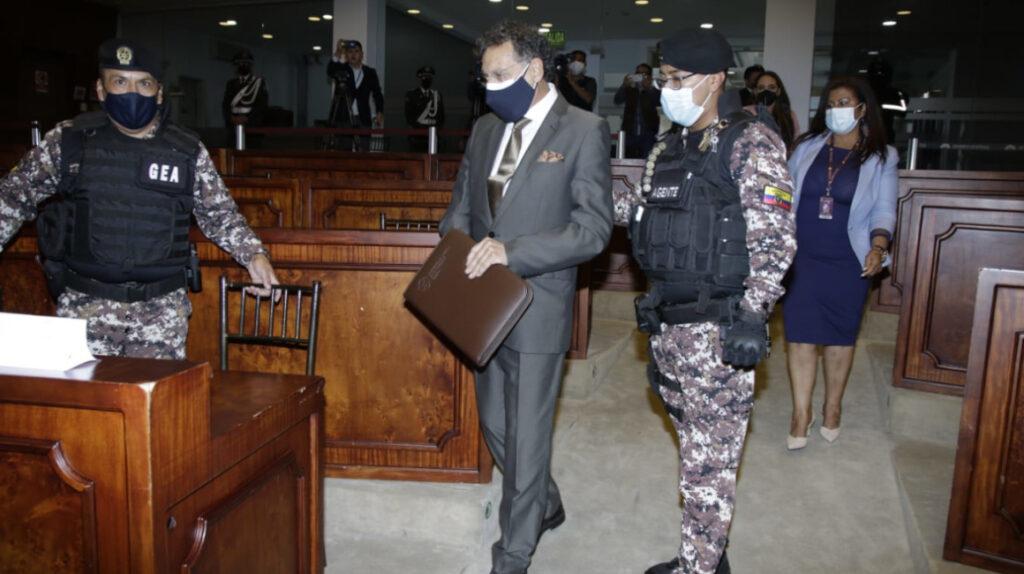 El juicio político contra el excontralor Pablo Celi será este lunes