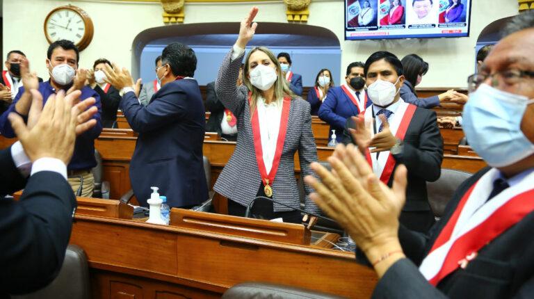 congresista María del Carmen Alva Prieto presidenta Poder Legislativo del Estado
