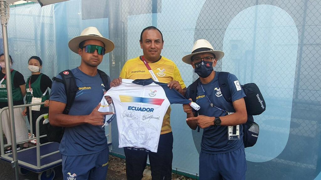 Carapaz y Narváez trabajarán con la Federación Ecuatoriana de Ciclismo