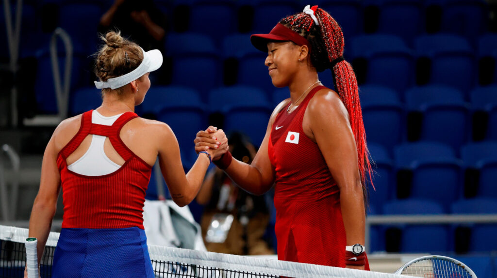Naomi Osaka, eliminada en los octavos de final de tenis en Tokio