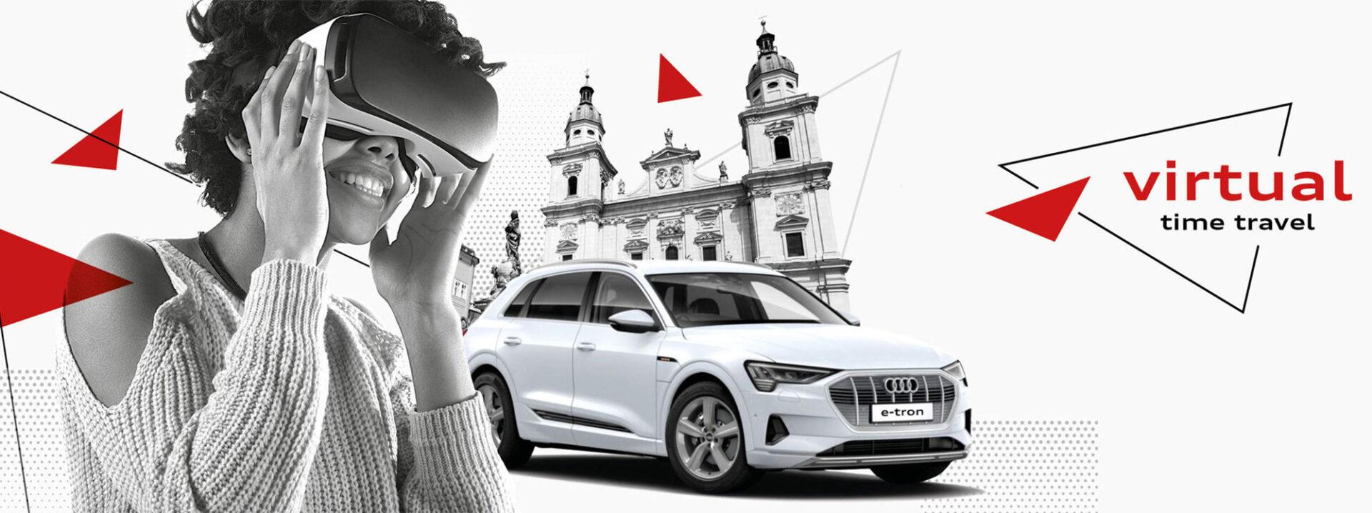 Audi hace historia con tecnología de realidad aumentada