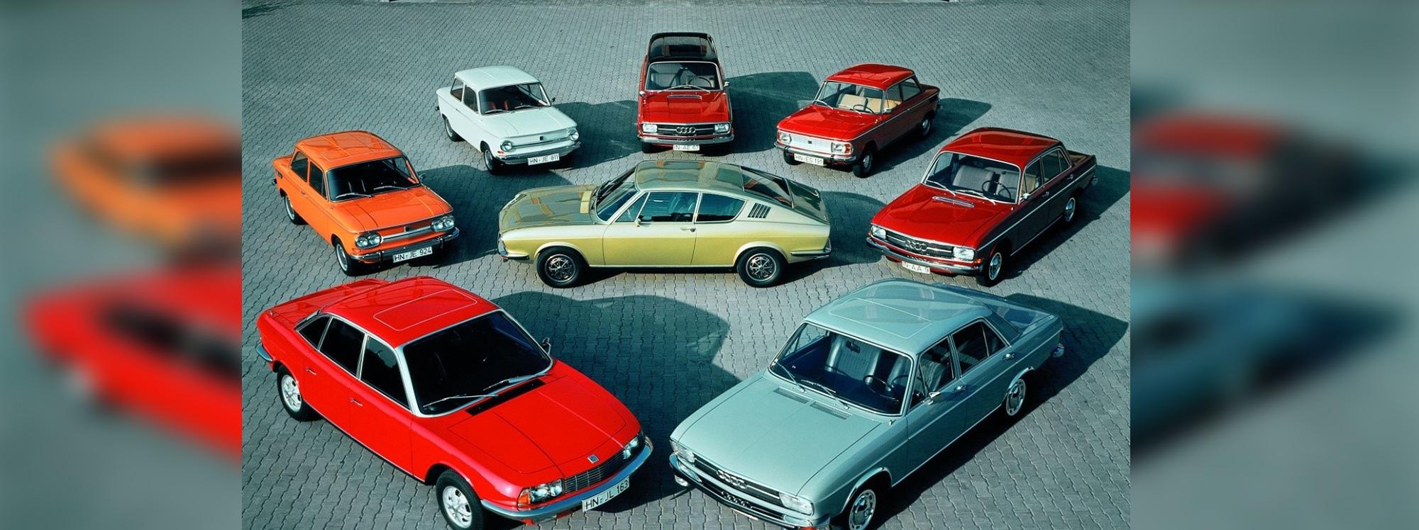 Los 50 años del lema de Audi a exposición