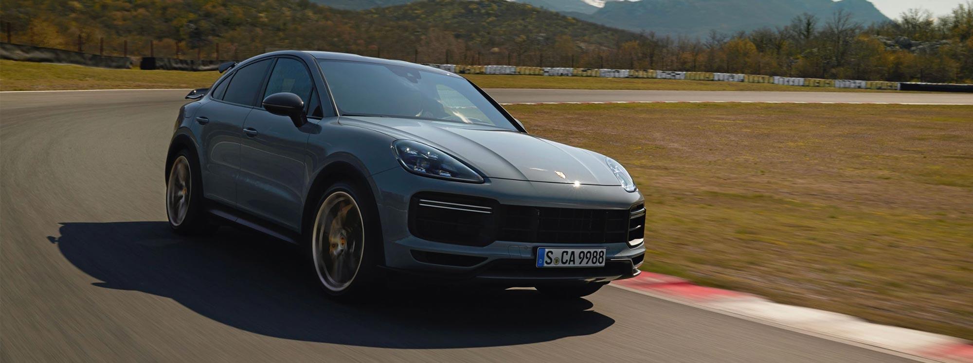 Experiencia deportiva de Porsche: el Cayenne Turbo GT