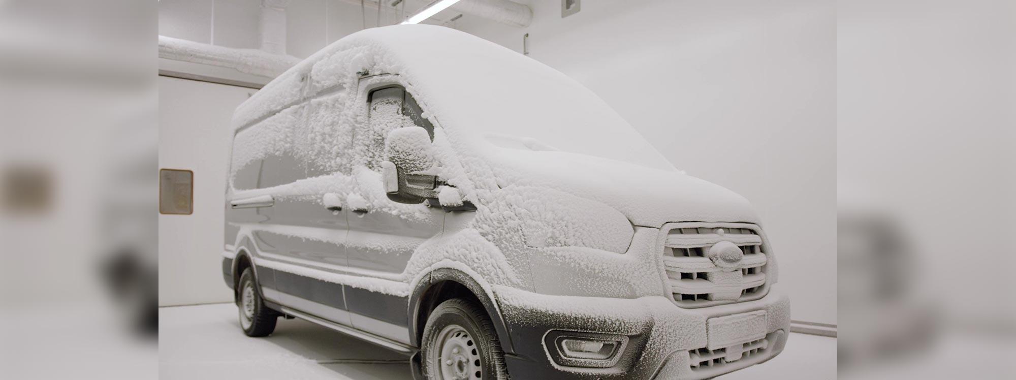 "Ford somete a ""Test de Tortura"" a su nueva E- Transit"