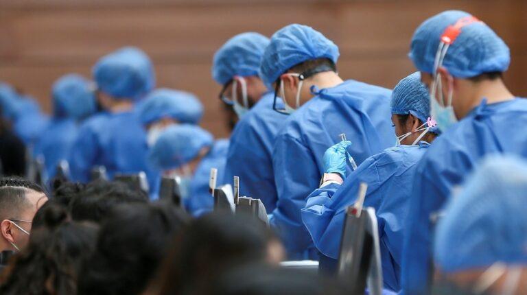 Nueve millones de personas en el país han recibido la primera dosis de la vacuna