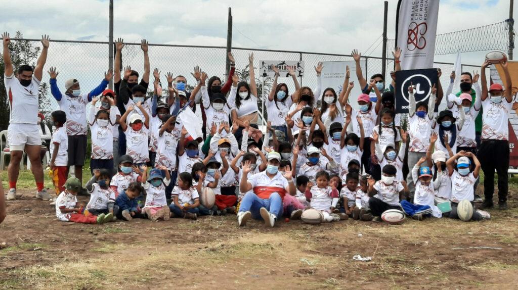 Escuelas de rugby en Quito fomentan respeto y valores a los niños