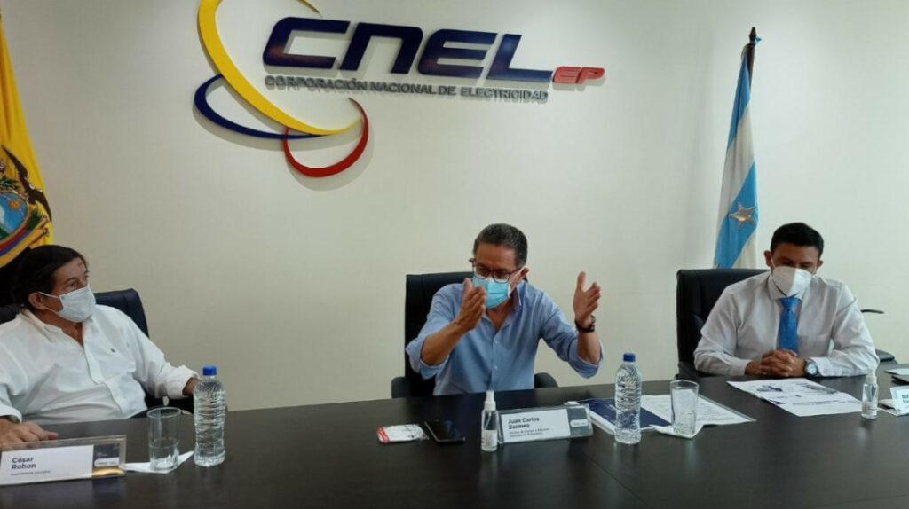 """Bermeo: """"Más de un millón de usuarios de CNEL fueron compensados"""""""