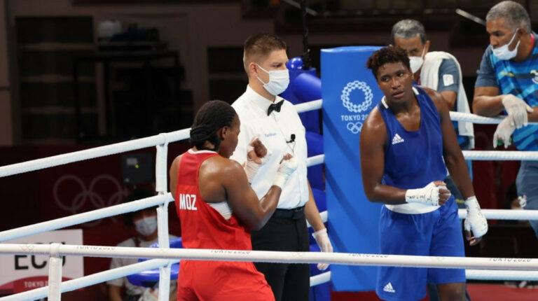 La boxeadora Érika Pachito queda eliminada en Tokio por decisión dividida