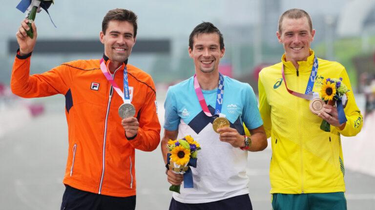 El esloveno Primoz Roglic se proclama campeón olímpico de contrarreloj