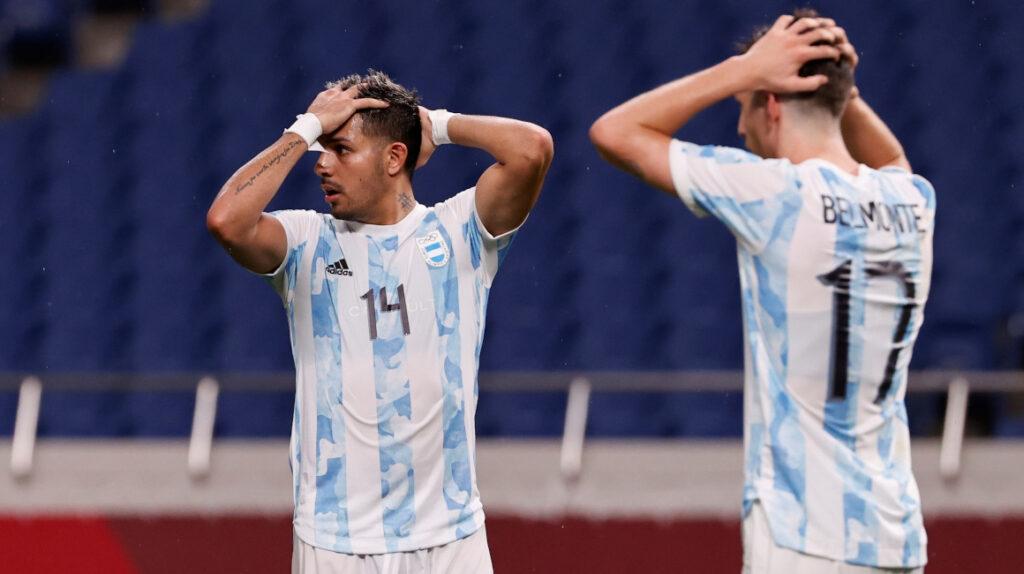 Argentina queda eliminada de Tokio tras empatar 1-1 con España
