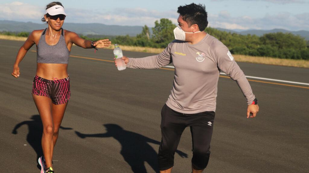 Kitami es la base de entrenamiento de la selección ecuatoriana de marcha