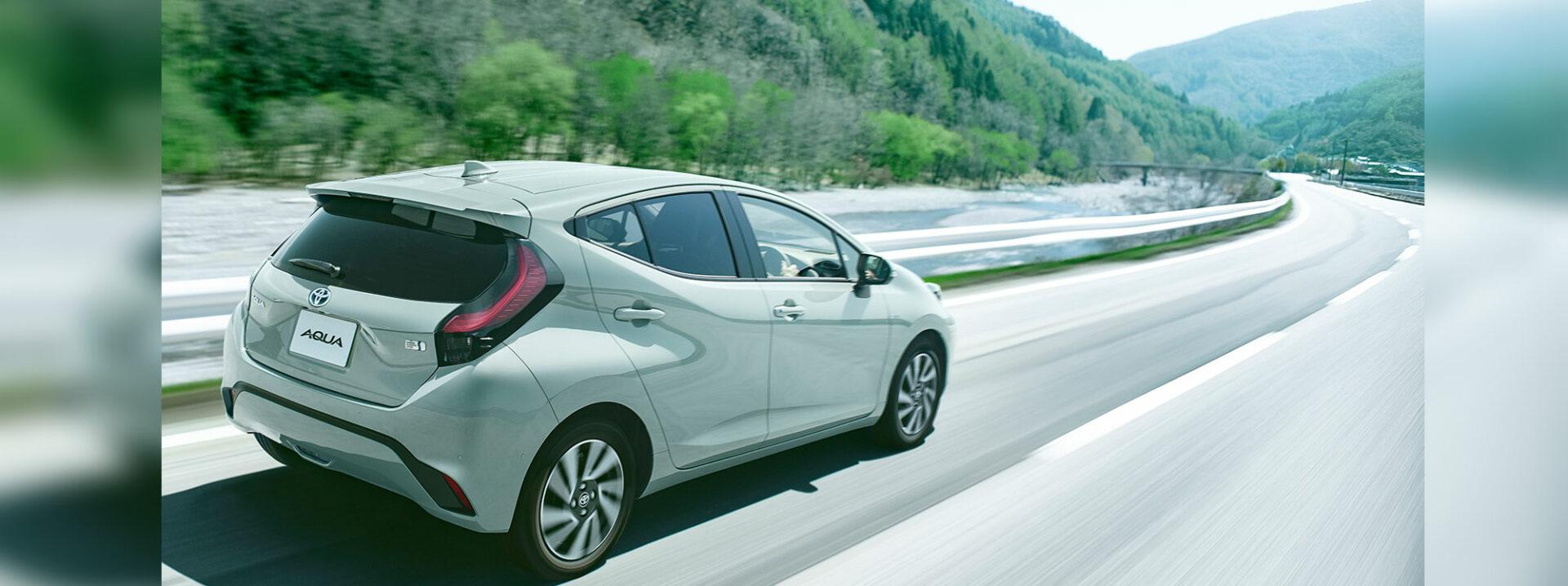 La nueva versión híbrida de Toyota Aqua